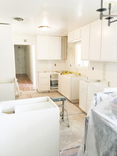 Kitchen Under Construction