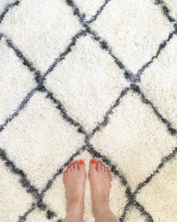 Feet on Carpet