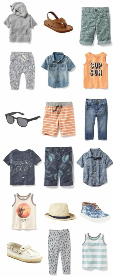 Cool summer clothes for toddler boys