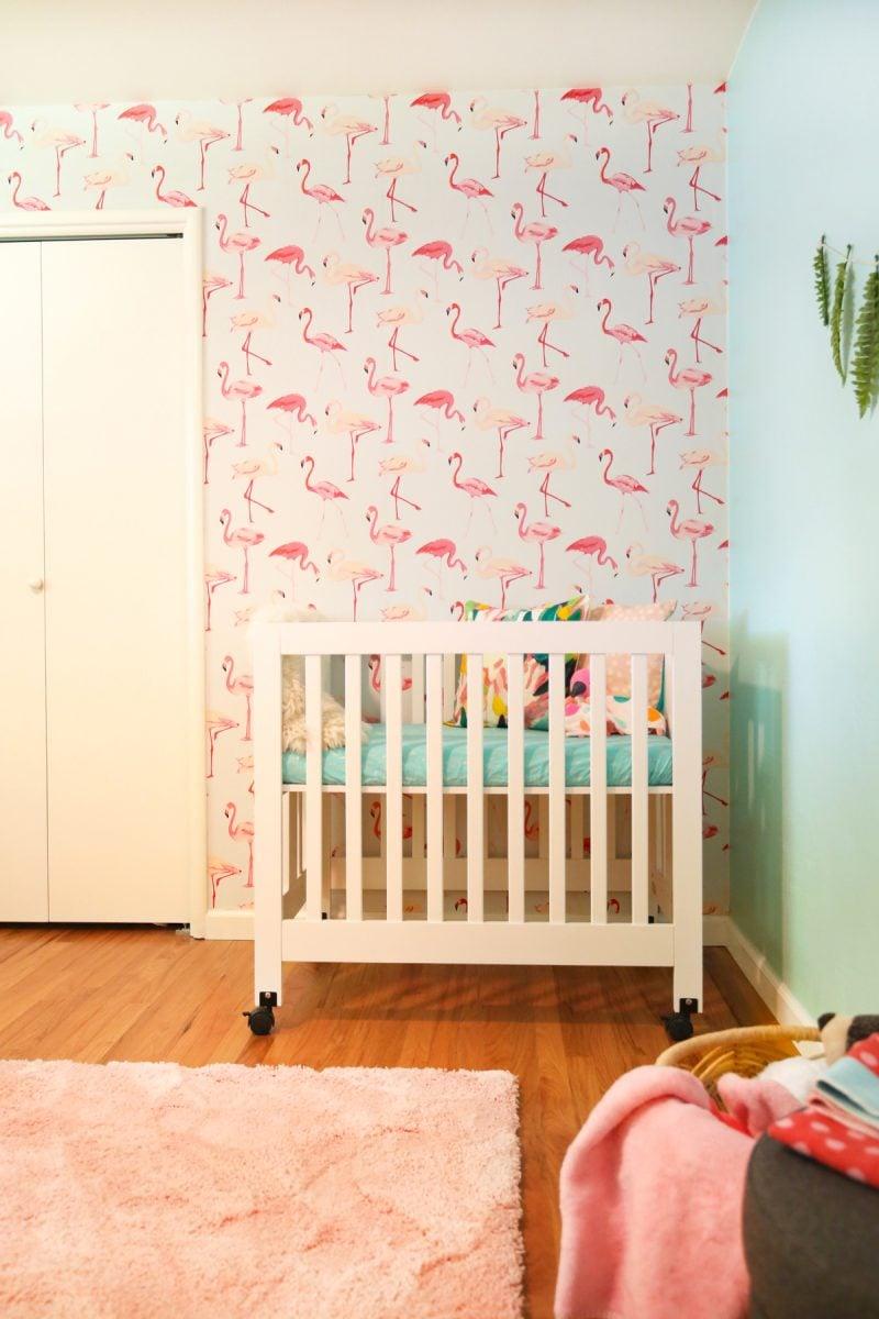 baby girl s nursery lovely indeed