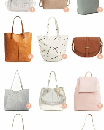 12 Bags for Moms that Aren't Mom Bags
