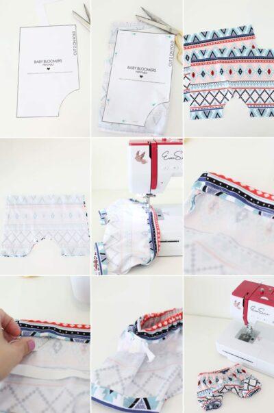 DIY Baby Harem Bloomers
