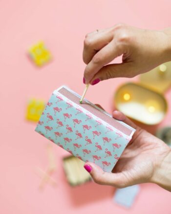 DIY Patterned Matchbooks and Matchboxes
