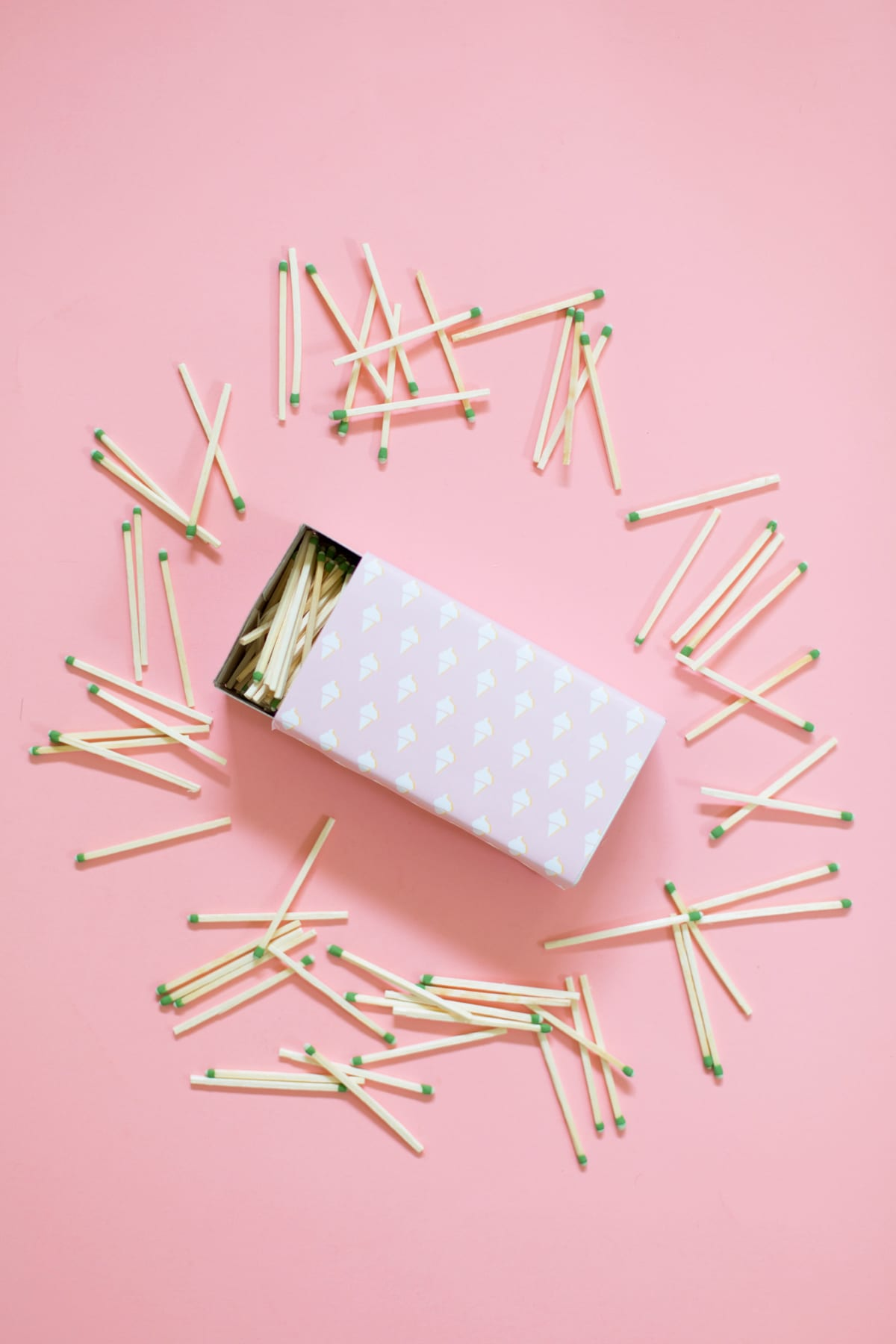 DIY Patterned Matchboxes and Matchbooks | Lovely Indeed