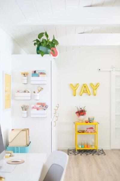 Bright, Colorful, Happy Studio Office