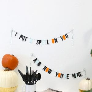 DIY Halloween Spell Garland thumbnail