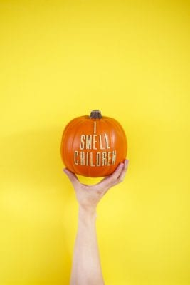 DIY Hocus Pocus Quote Pumpkins