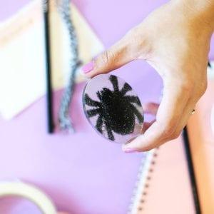 DIY Tarantula Halloween Paperweight thumbnail