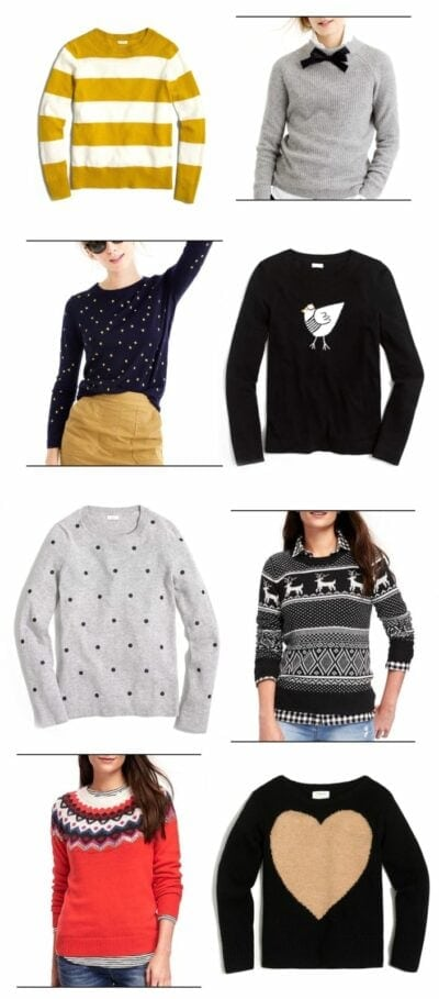 8 Holiday Sweaters