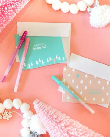 DIY Printable Christmas Cards