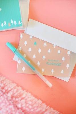 DIY Printable Christmas Cards