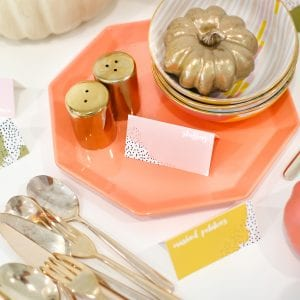 DIY Printable Thanksgiving Food Label Cards thumbnail