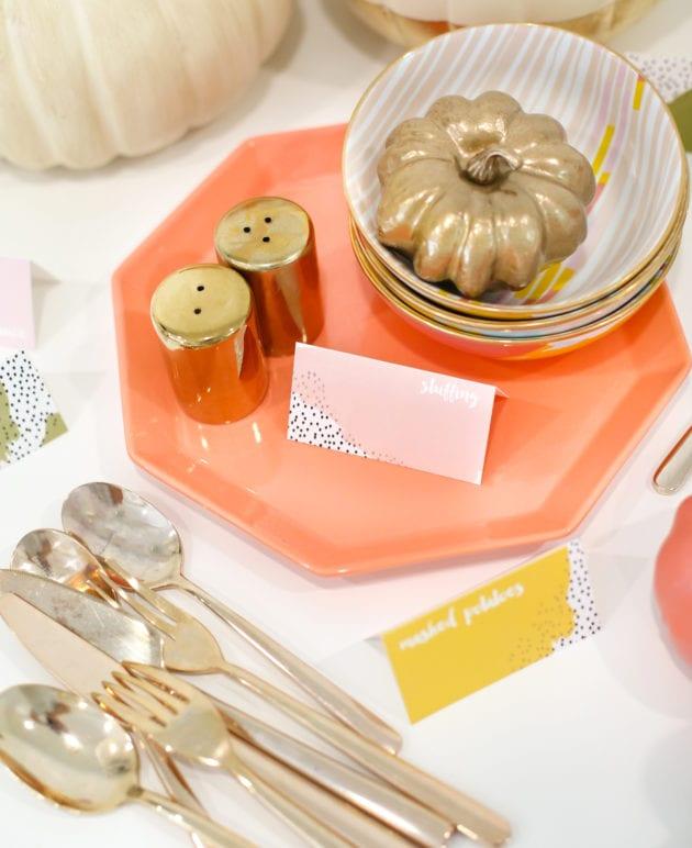 DIY Printable Thanksgiving Food Label Cards thumbnail
