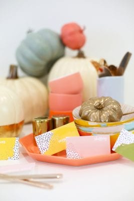 DIY Printable Thanksgiving Food Labels
