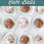 how to make rum balls