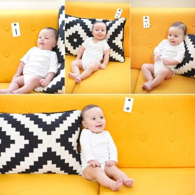 Baby Maggie Months 1-4