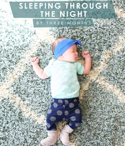 Getting Baby to Sleep Through the Night thumbnail