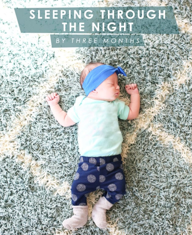 How to Get Your Baby to Sleep Through the Night thumbnail