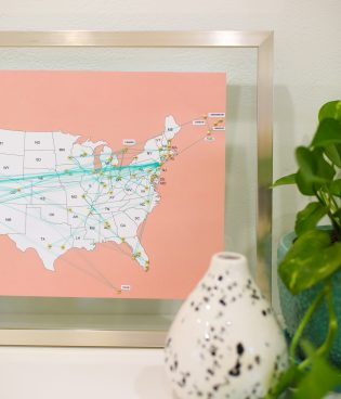 DIY Travel Map thumbnail