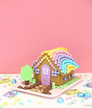DIY Easter Bunny Gingerbread House thumbnail