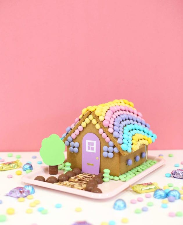 DIY Easter Bunny Gingerbread House thumbnail