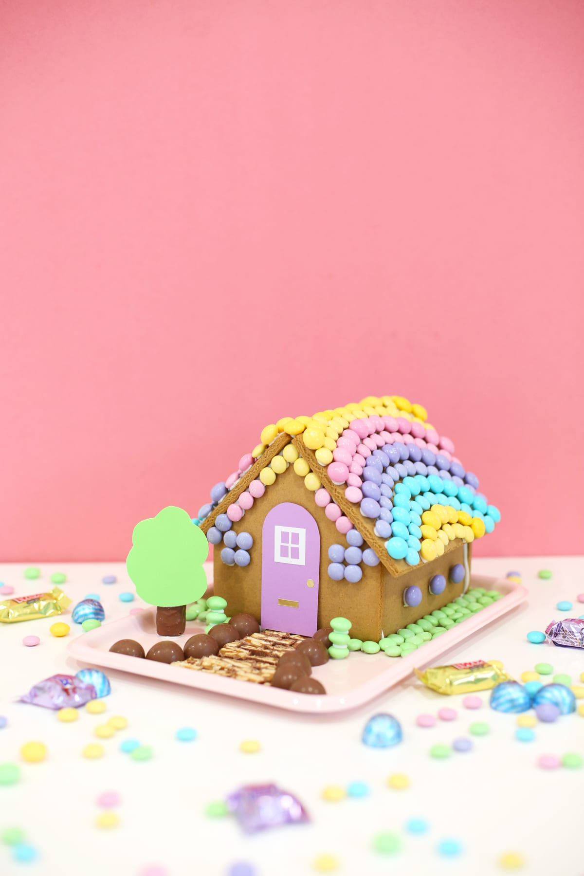 Diy Easter Bunny Gingerbread House Lovely Indeed