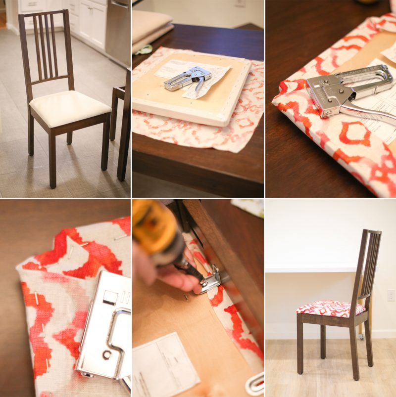 Charming How To Recover Kitchen Chairs