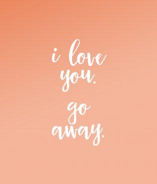 I Love You, Go Away thumbnail
