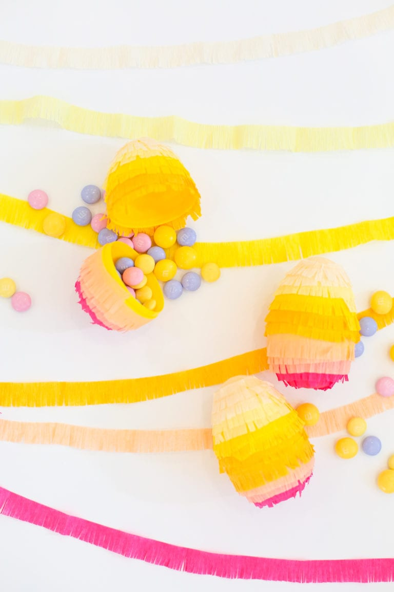 DIY Piñata Surprise Easter Eggs