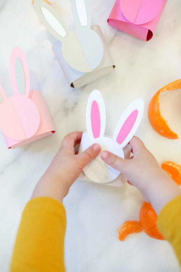 Printable Bunny Box for Easter