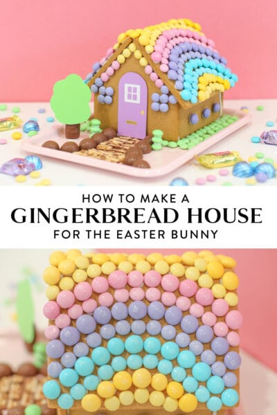 easter gingerbread house