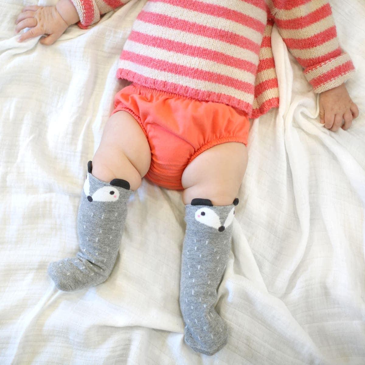 Chubby baby legs