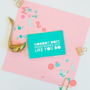 DIY Typography Mother's Day Cards thumbnail