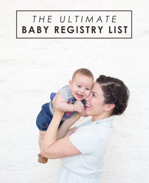 The Ultimate Baby Registry List thumbnail