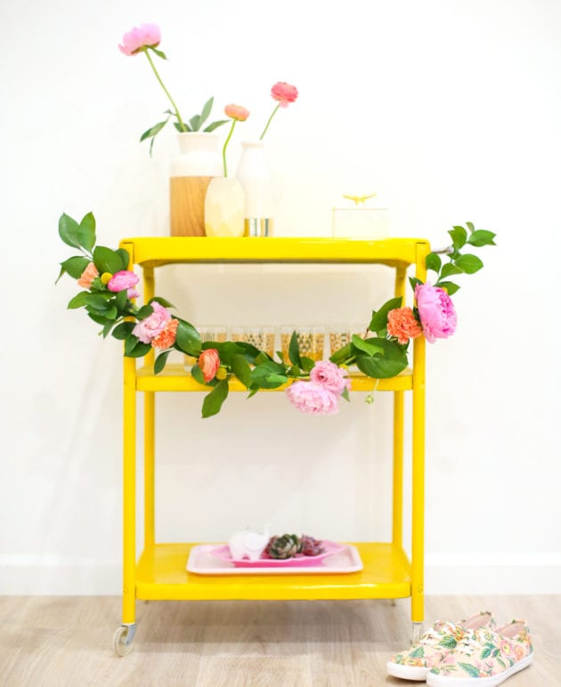 DIY Floral Swag Garland thumbnail