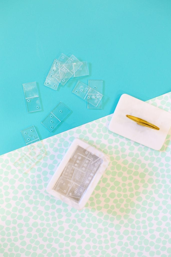 DIY Acrylic Dominoes