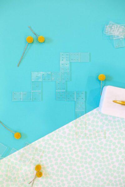 DIY Acrylic Dominoes