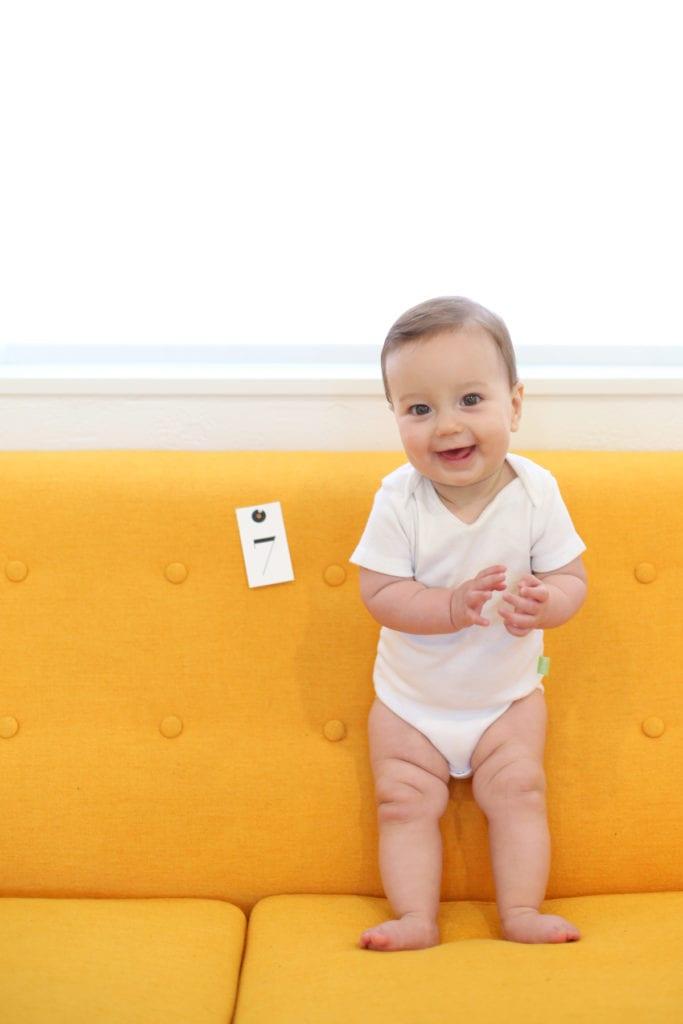Maggie seven months
