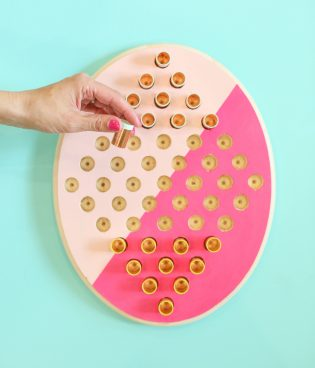 DIY Two-Person Chinese Checkers Game
