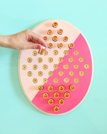 DIY Two Person Chinese Checkers Game