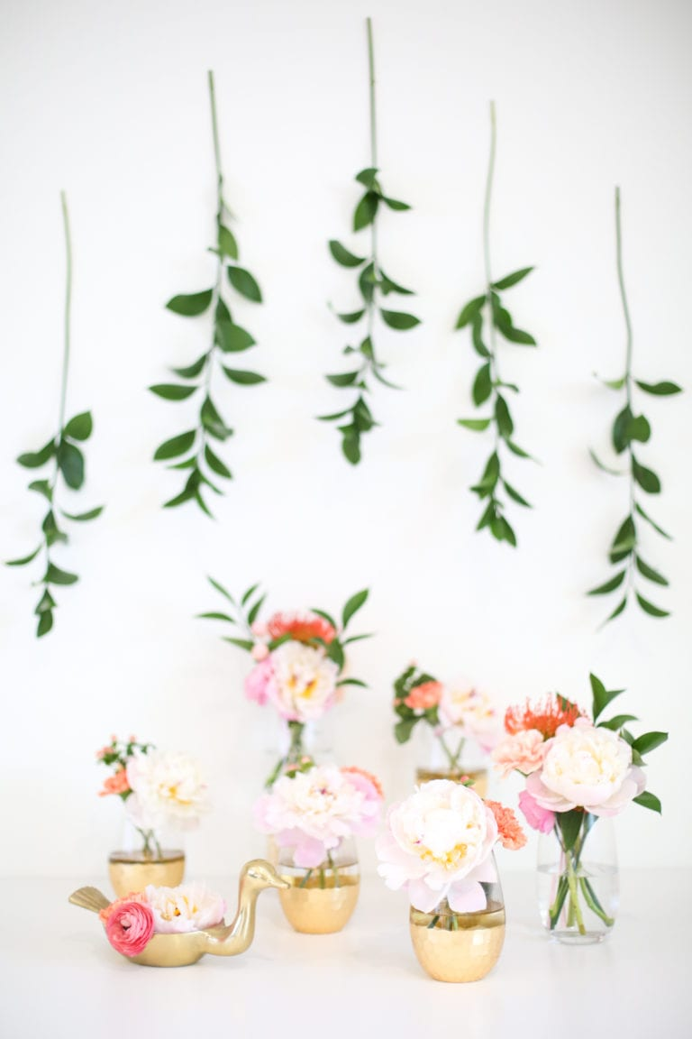 How to make simple Mother's Day floral arrangements