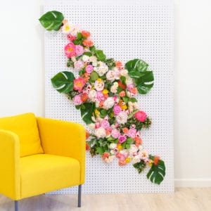 DIY Floral Photo Backdrop thumbnail