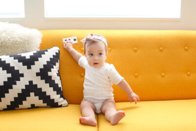 8 month old baby girl