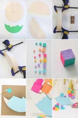 DIY Rainbow Balance Game for Kids