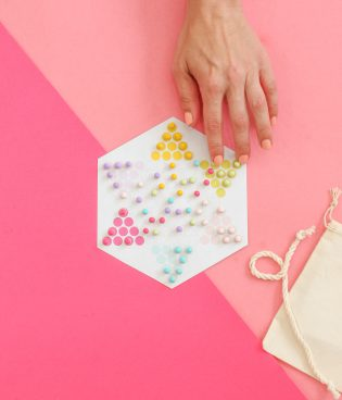 DIY Travel Chinese Checkers Game