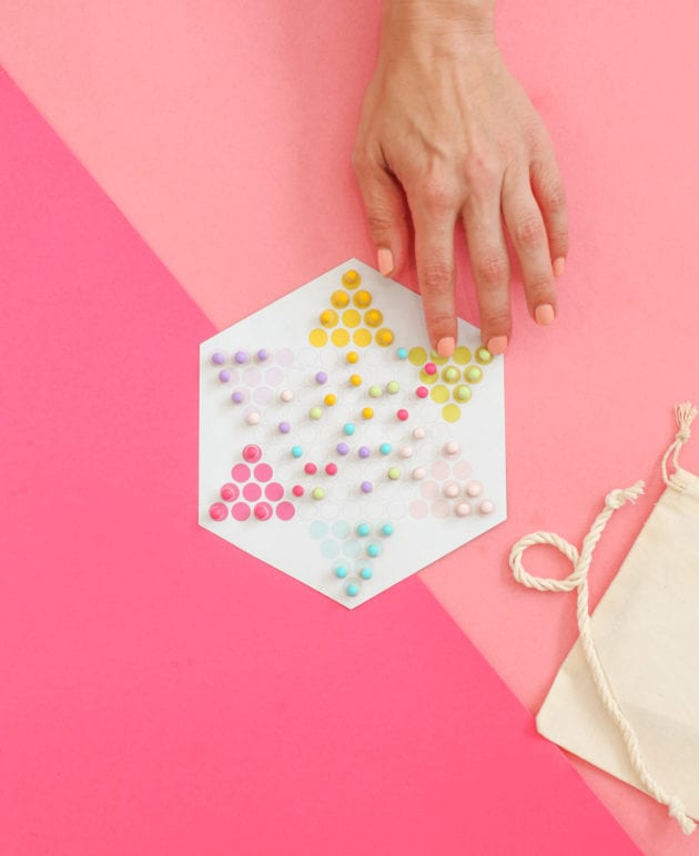 DIY Travel Chinese Checkers Game thumbnail