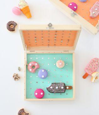 DIY Battleship Sweets Game