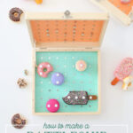 make a battleship sweets game
