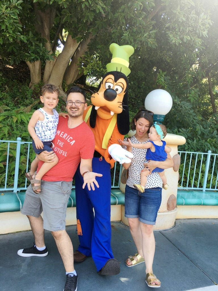 How to do Disneyland with a baby and a toddler