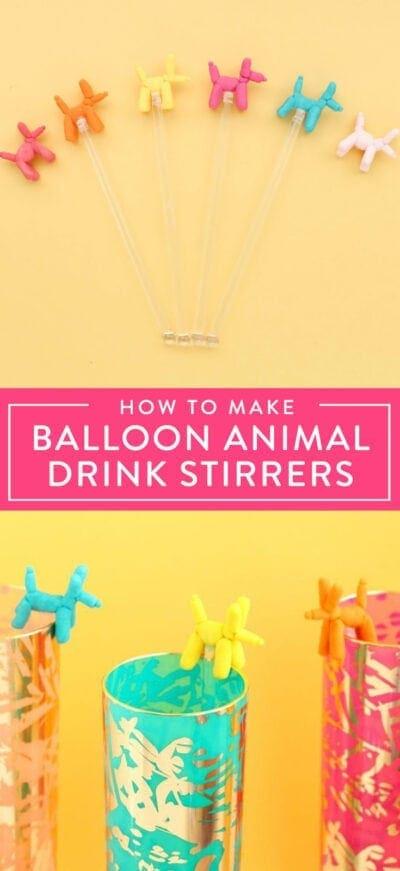 DIY drink markers